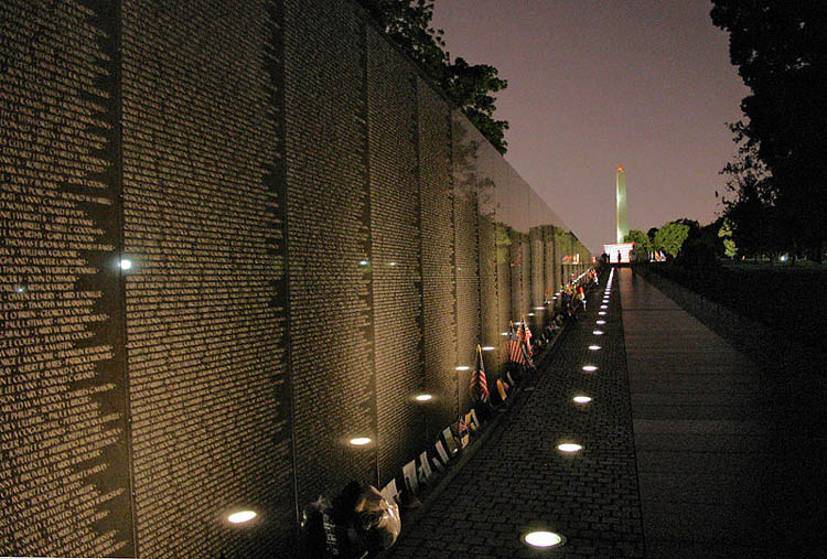 essay on vietnam war memorial In memory of those who have died from physical and emotional wounds received while serving in the vietnam war  the vietnam veterans memorial also underwent.